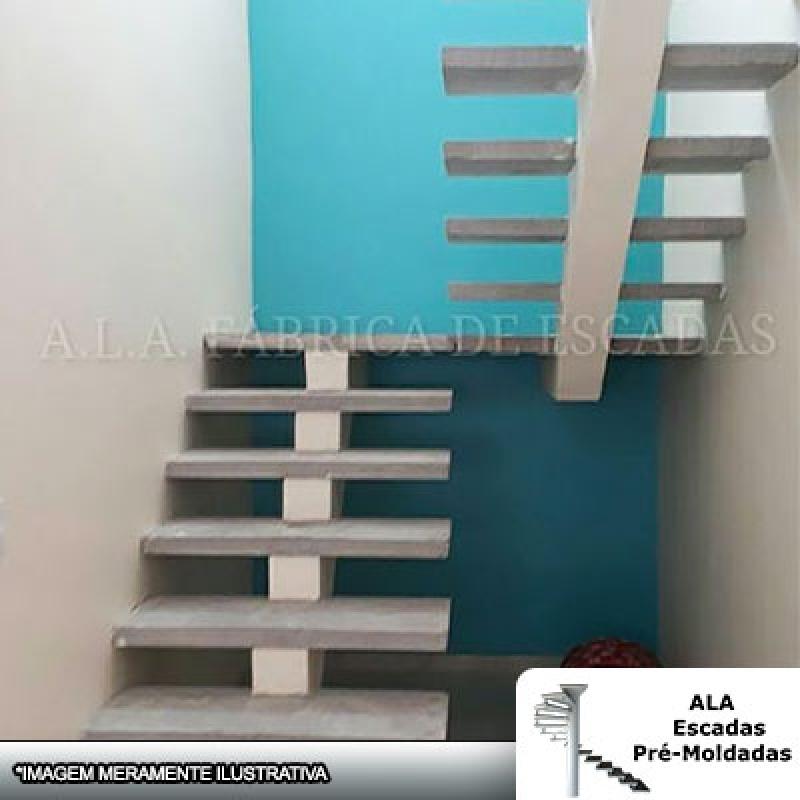 Escada em U para Sobrado São Caetano - Escada em U Cascata