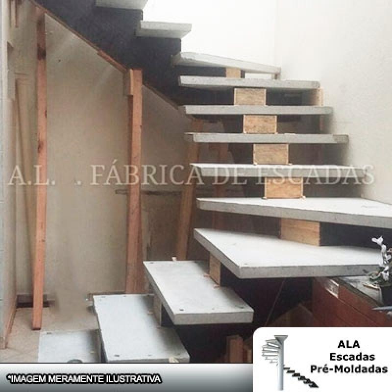 Escada em U Vazada Cotar Mogi das Cruzes - Escada em U em Leque