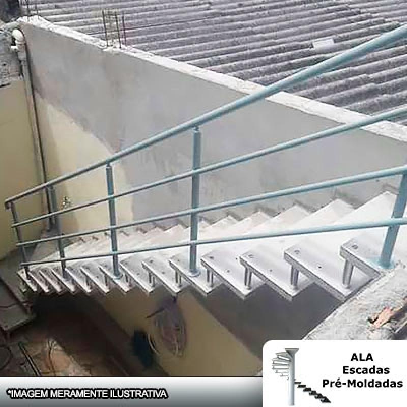Escada Pré Fabricada em Concreto Carapicuíba - Escada Pré Fabricada Concreto