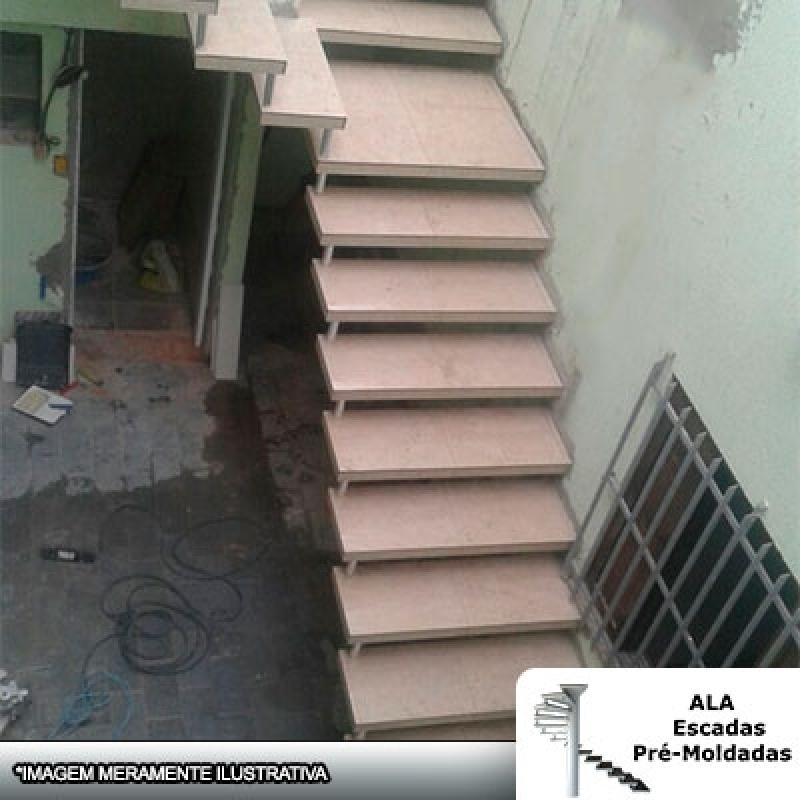 Escada Pré Moldada com Piso Mairiporã - Escada Pré Moldada com Piso