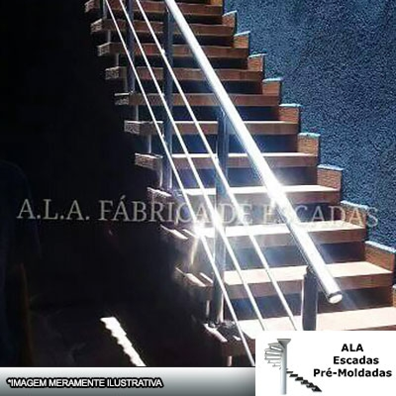 Escadas Pré Moldadas para Sala Francisco Morato - Escada Pré Moldada com Piso