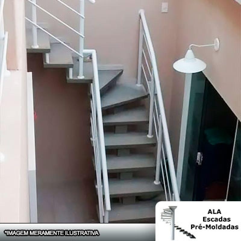 Orçamento para Escada Pré Moldada Viga Central Osasco - Escada Pré Moldada com Piso