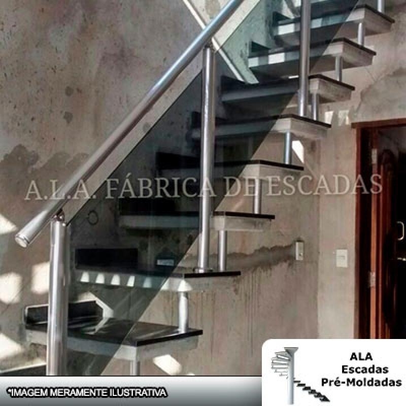 Preço de Corrimão Alumínio com Vidro Fumê Itapecerica da Serra - Corrimão de Alumínio Branco