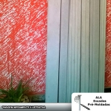 comprar moldura de concreto para muro Parque Cecap