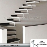 empresa para comprar escada interna para prédio Cotia