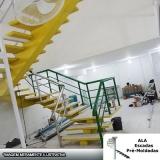escada espinha de peixe concreto melhor orçamento Invernada