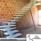 escada espinha de peixe concreto valor Campinas