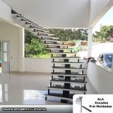 escada pré fabricada predial preço Suzano