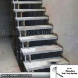 escada pré moldada reta valores Vila dos Telles