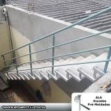 escada pré fabricada em concreto