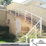 fábrica de corrimão de escada em ferro galvanizado Parque Cecap