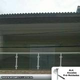 guarda corpo de alumínio e vidro Vila Ristori