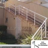 guarda corpo de alumínio para varanda preço Parque Cecap