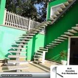 orçamento para escada pré moldada área externa Embu das Artes