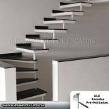 orçamento para escada pré moldada com mármore Franco da Rocha