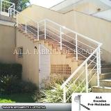 preço de corrimão de alumínio escada Atibaia