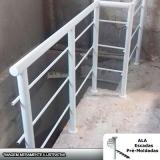 venda de guarda corpo de alumínio branco Francisco Morato